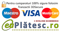 tranzactii 100% sigure prin 3DSecure